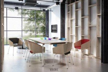 VANK_WOODI - Vank - Fotele i krzesła biurowe