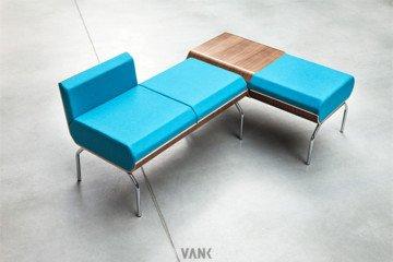 WOODI TRAWERS - Vank - Fotele i krzesła biurowe