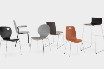 Cafe - Nowy Styl - Fotele i krzesła biurowe