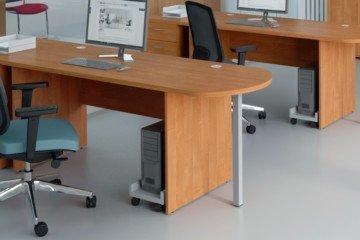 Eleganckie stojące biuro Classic