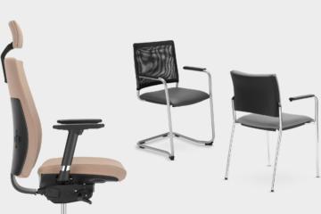 Intrata - Nowy Styl - Fotele i krzesła biurowe