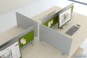 Schemat biurka Invest ART, Biurko Biurowe