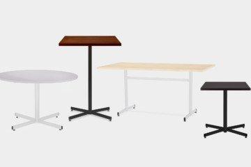 Cruzo - Nowy Styl - Stoły i stoliki biurowe