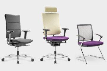 Sail - Nowy Styl - Fotele i krzesła biurowe