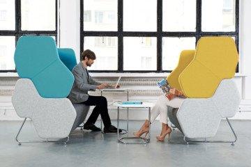 Hexa - Nowy Styl - Fotele i krzesła biurowe