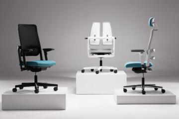 Xilium - Nowy Styl - Fotele i krzesła biurowe